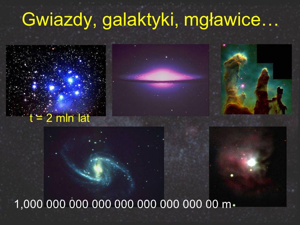 Gwiazdy, galaktyki, mgławice…