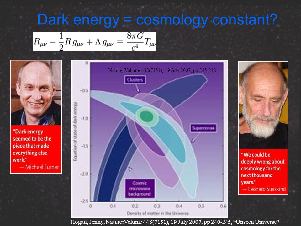 Dark energy = cosmology constant