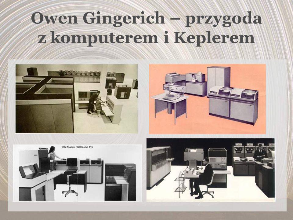Owen Gingerich – przygoda z komputerem i Keplerem
