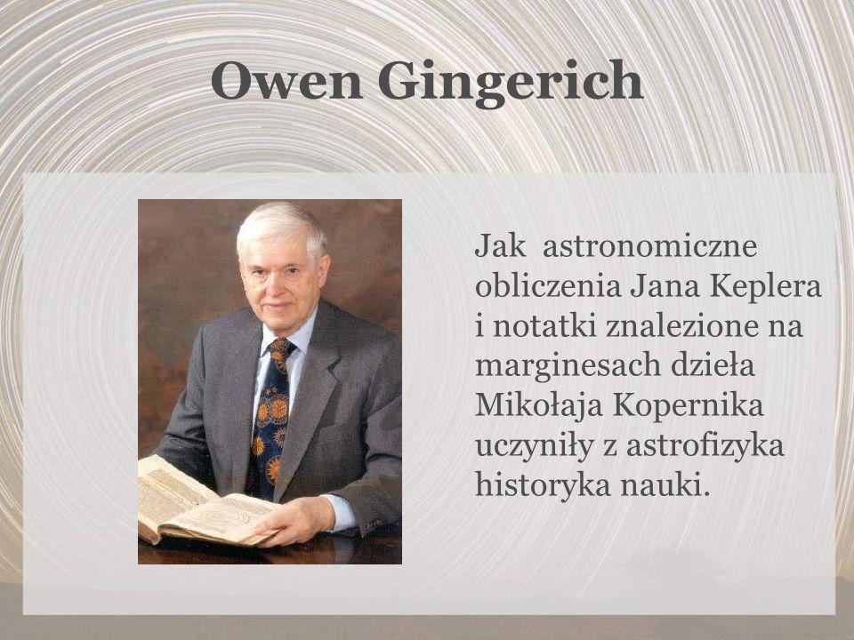 Owen Gingerich