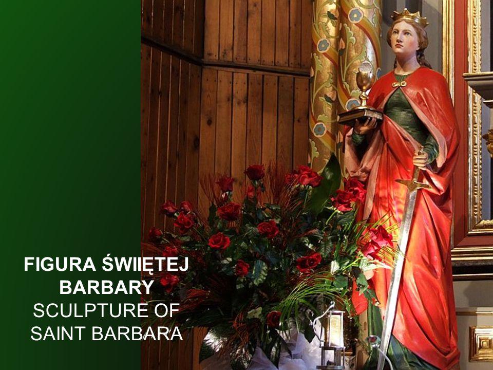 FIGURA ŚWIIĘTEJ BARBARY
