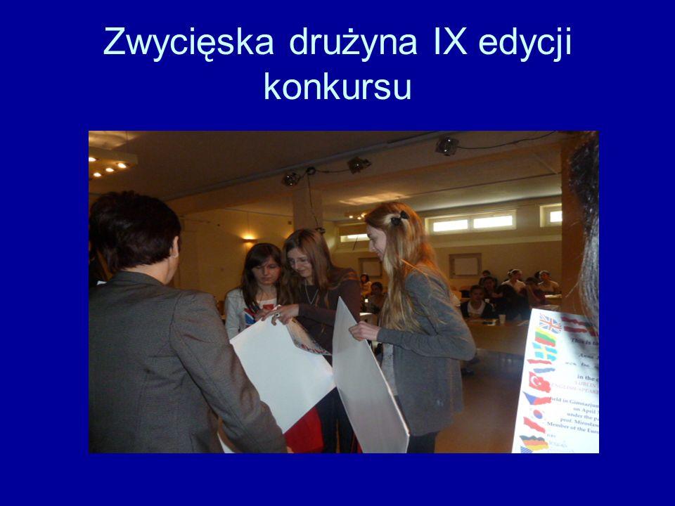 Zwycięska drużyna IX edycji konkursu