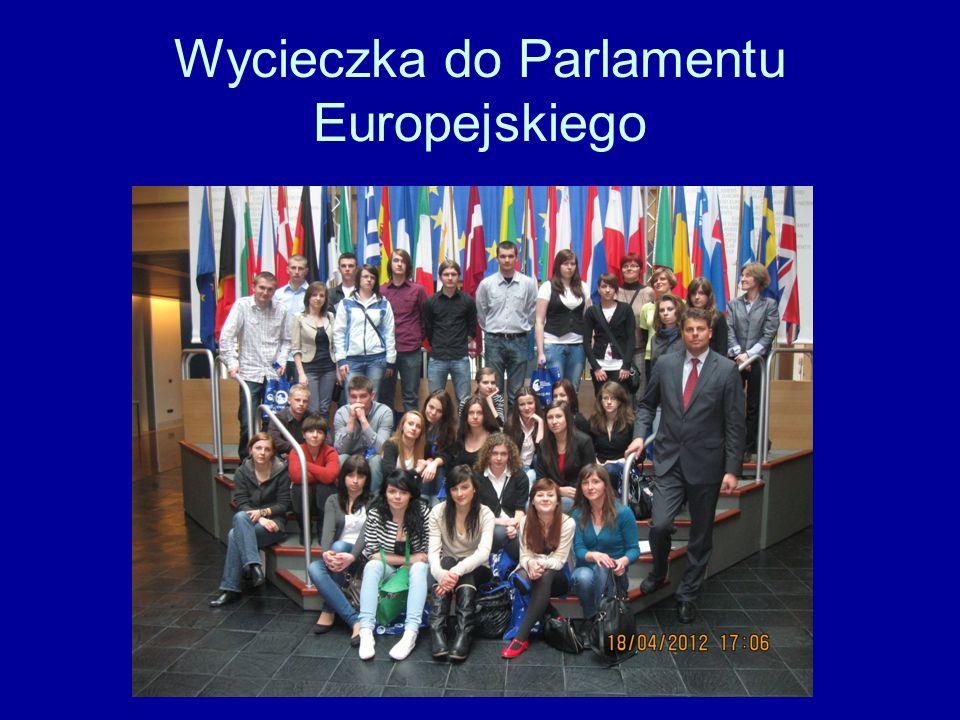 Wycieczka do Parlamentu Europejskiego
