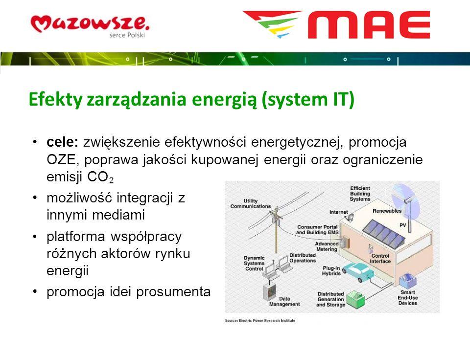 Efekty zarządzania energią (system IT)