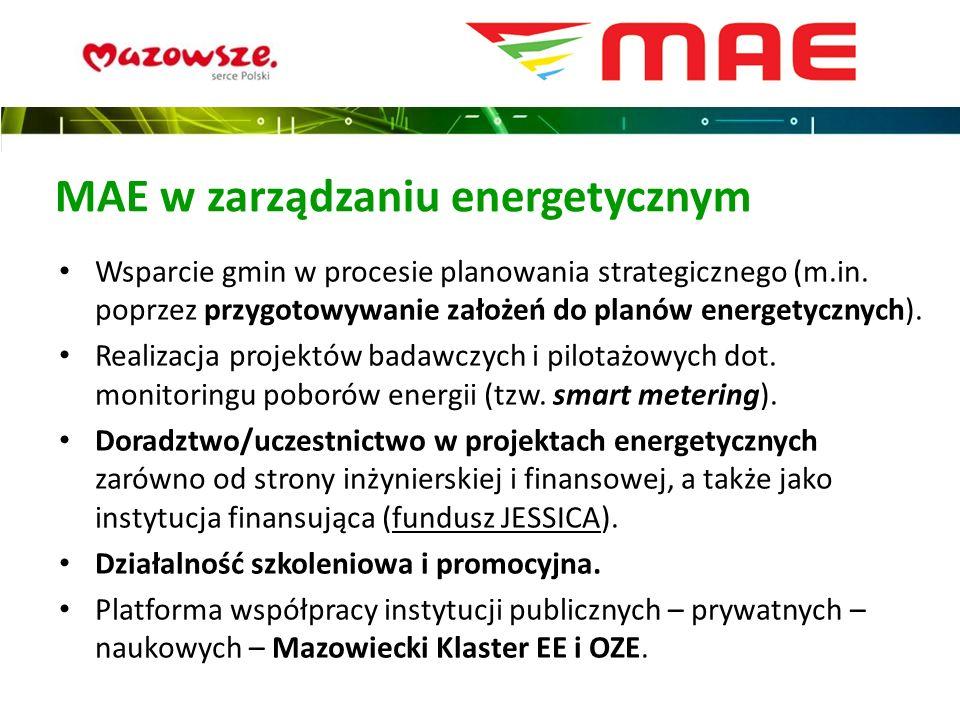 MAE w zarządzaniu energetycznym