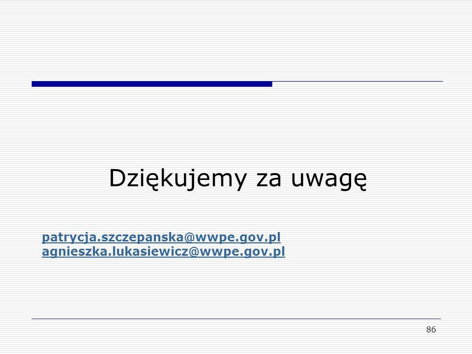 patrycja.szczepanska@wwpe.gov.pl agnieszka.lukasiewicz@wwpe.gov.pl