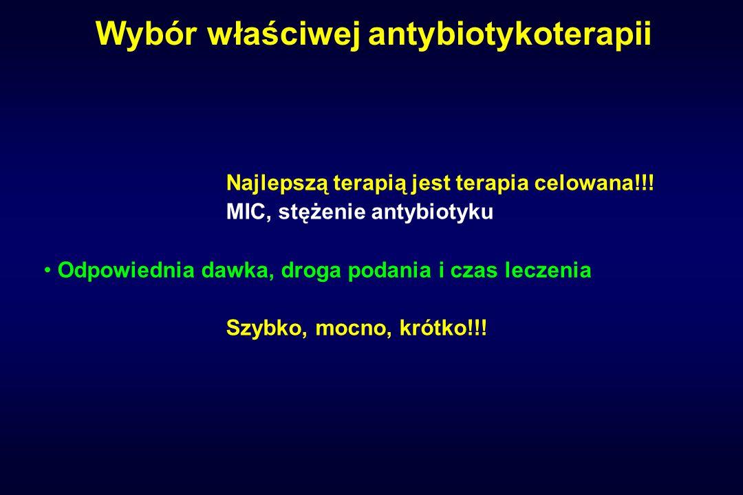 Wybór właściwej antybiotykoterapii
