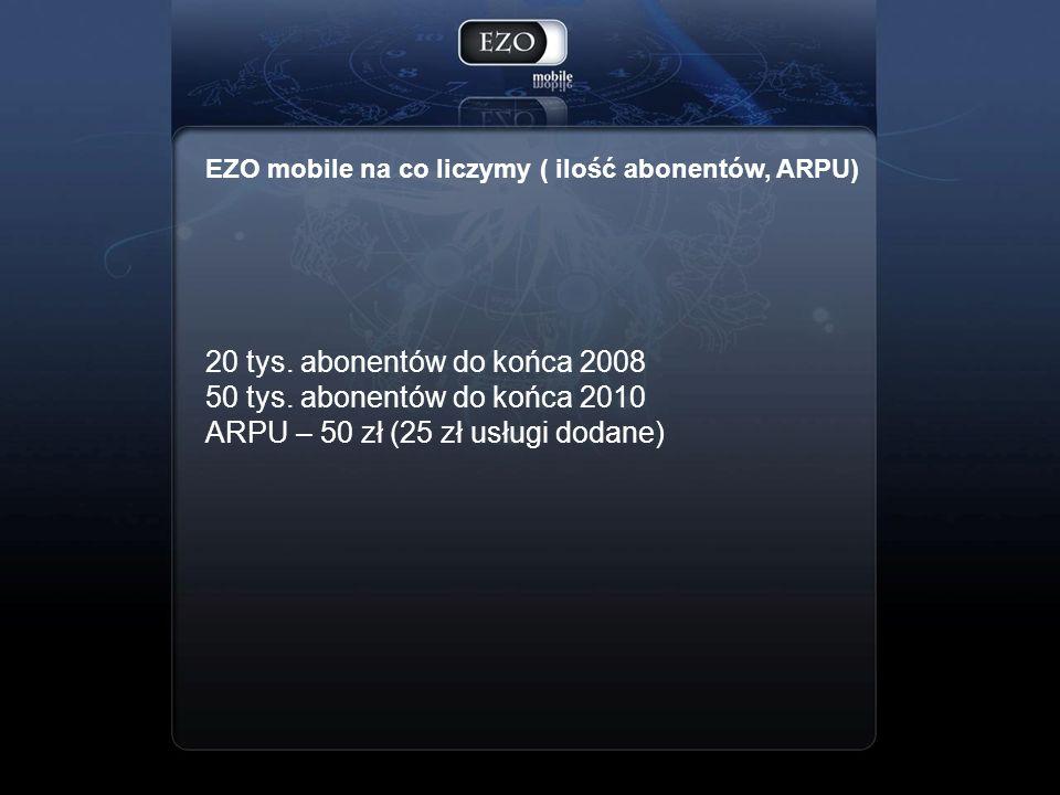 ARPU – 50 zł (25 zł usługi dodane)