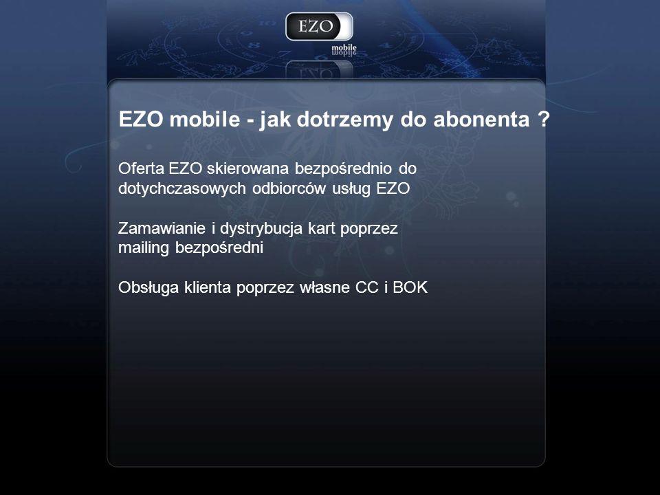EZO mobile - jak dotrzemy do abonenta