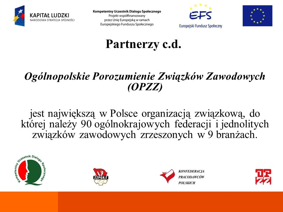 Ogólnopolskie Porozumienie Związków Zawodowych (OPZZ)