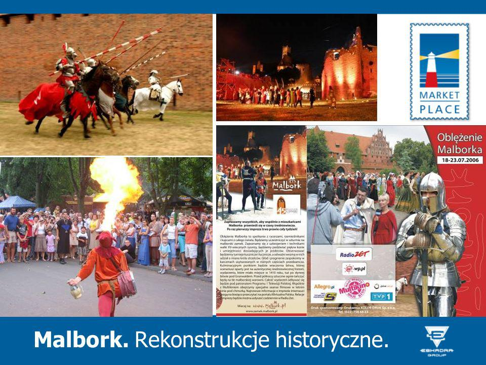 Malbork. Rekonstrukcje historyczne.