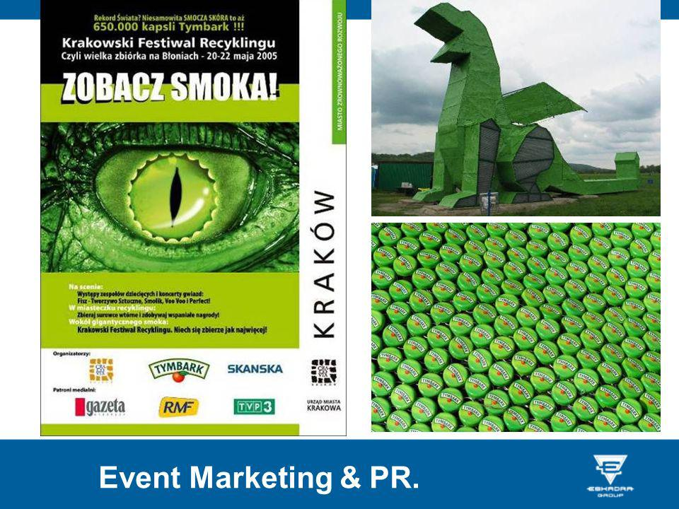 Event Marketing & PR.