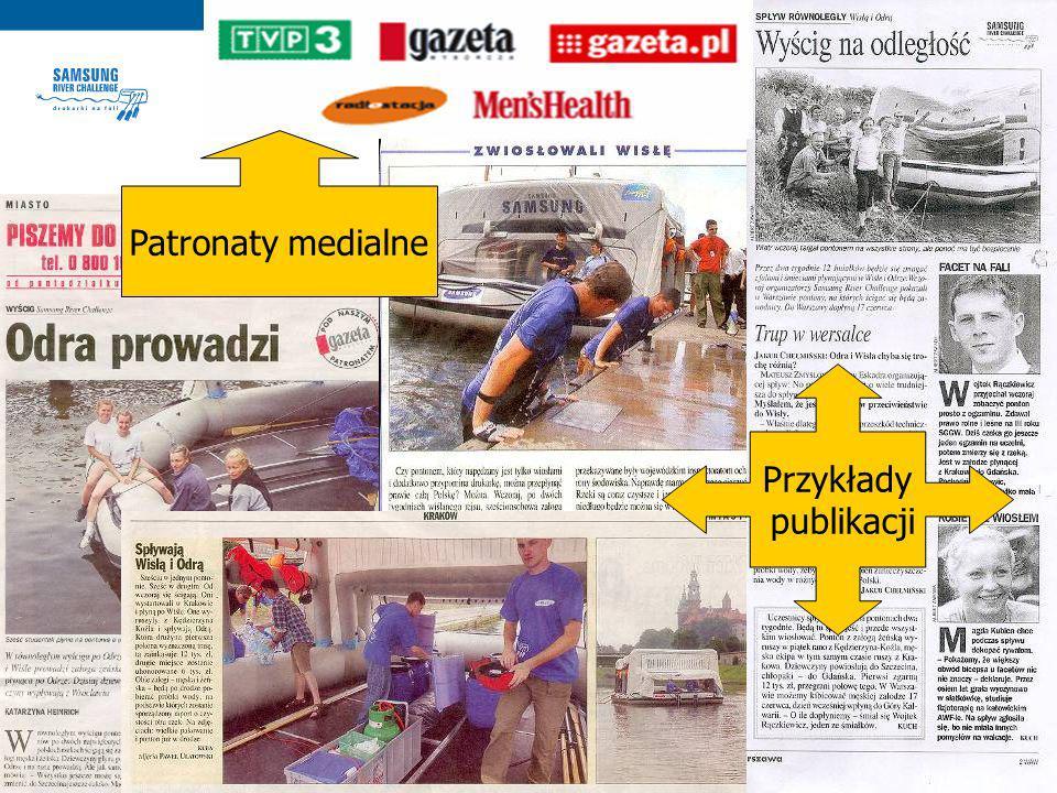 PATRONATY MEDIALNE Patronaty medialne Przykłady publikacji