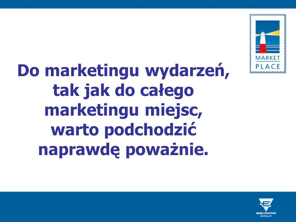 Do marketingu wydarzeń, tak jak do całego marketingu miejsc, warto podchodzić naprawdę poważnie.