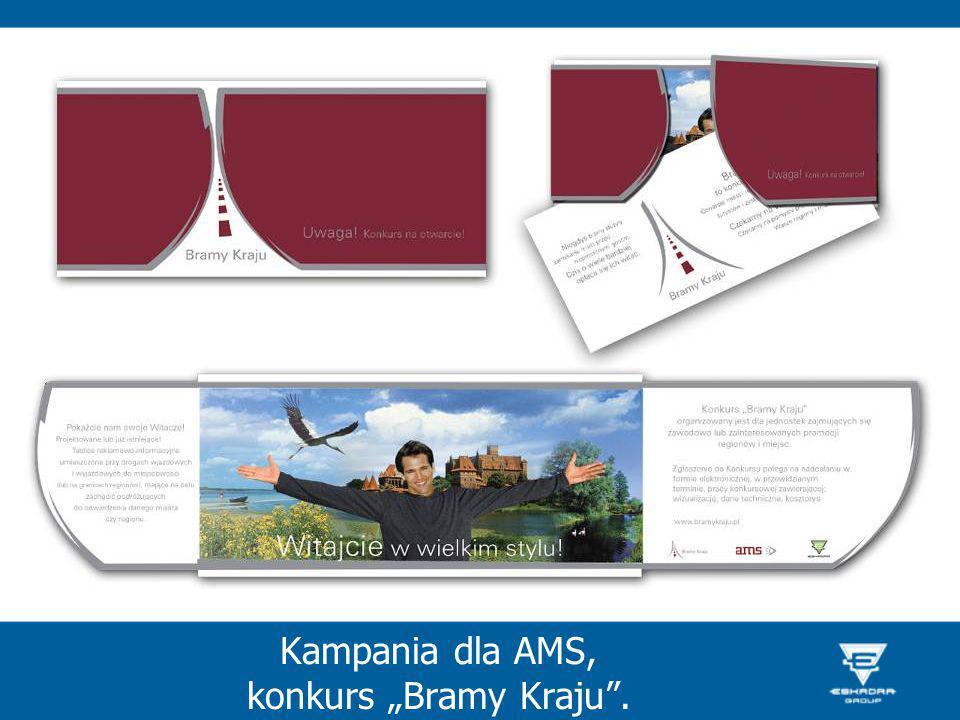 """Kampania dla AMS, konkurs """"Bramy Kraju ."""