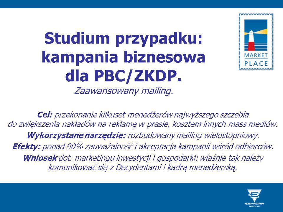 Studium przypadku: kampania biznesowa dla PBC/ZKDP