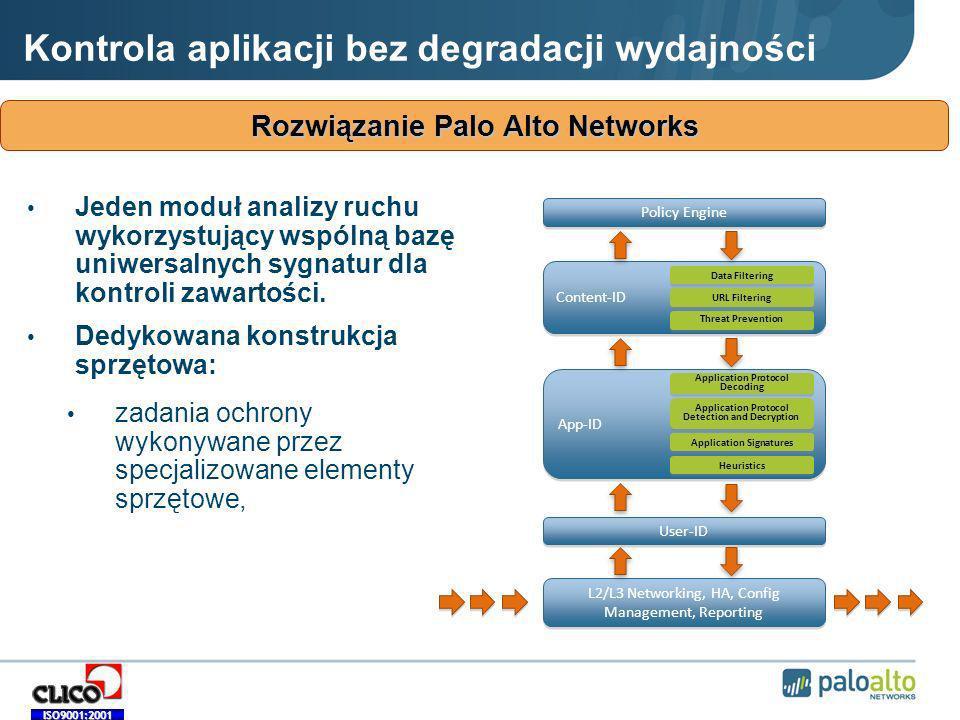 Rozwiązanie Palo Alto Networks