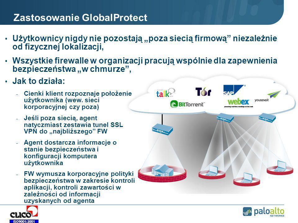 Zastosowanie GlobalProtect