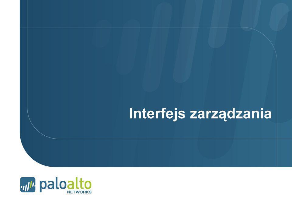 Interfejs zarządzania