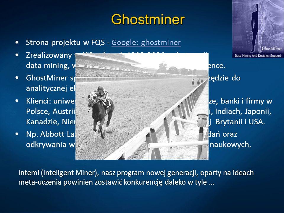 Ghostminer Strona projektu w FQS - Google: ghostminer