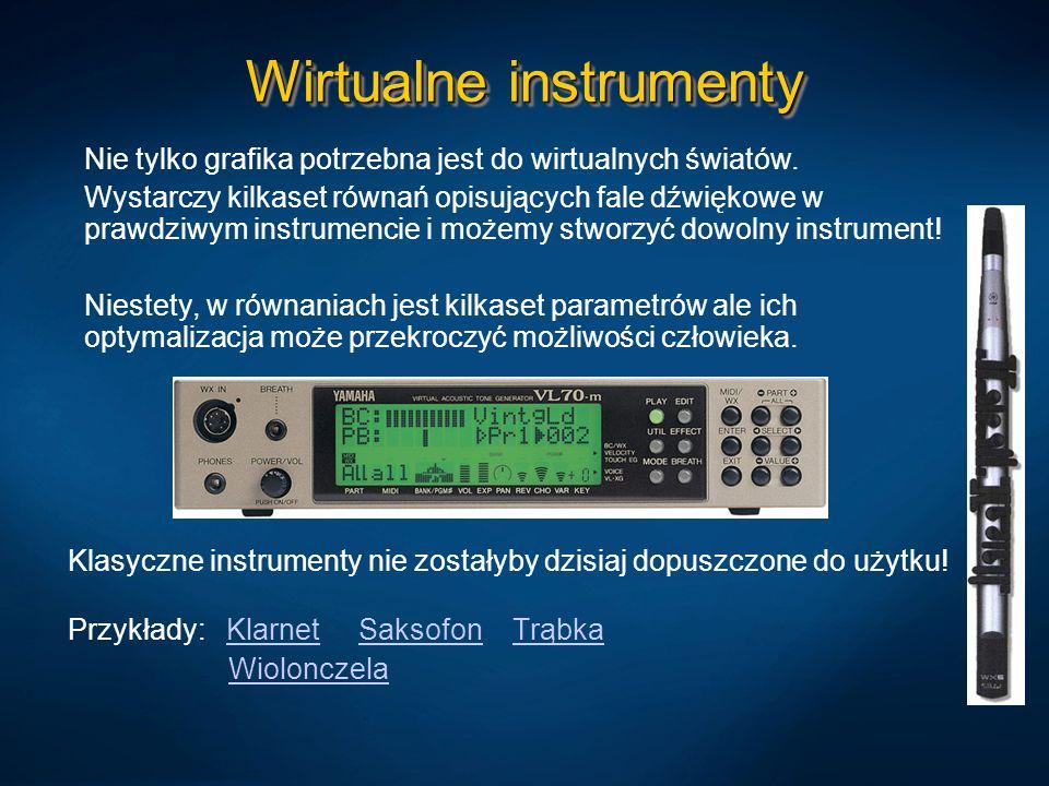 Wirtualne instrumenty