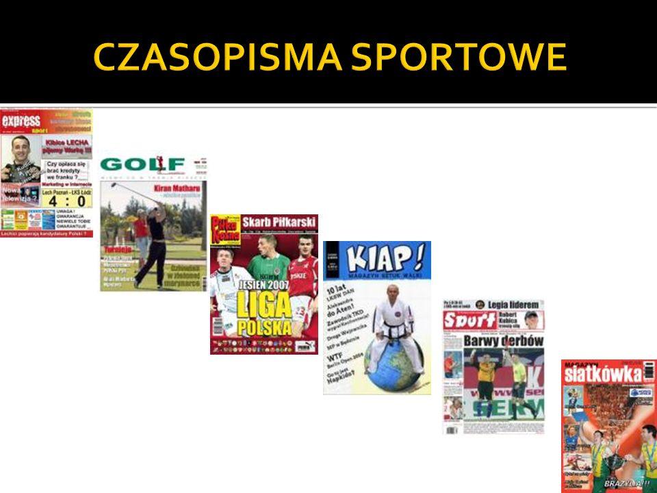 CZASOPISMA SPORTOWE