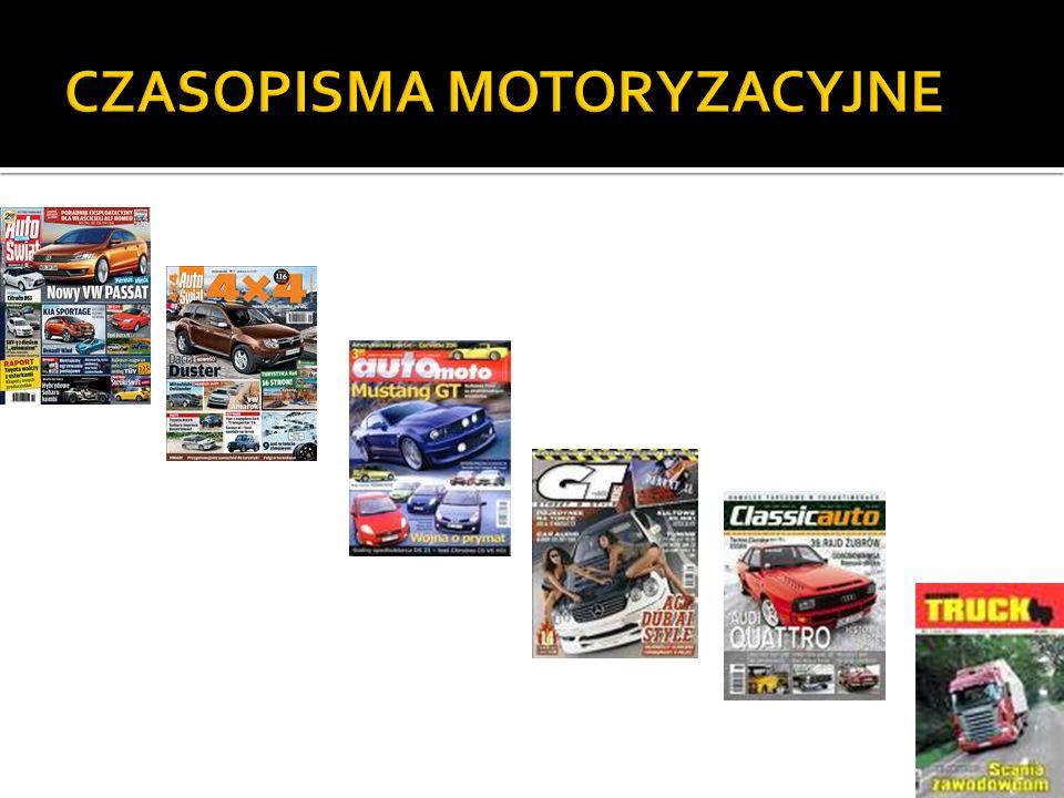 CZASOPISMA MOTORYZACYJNE