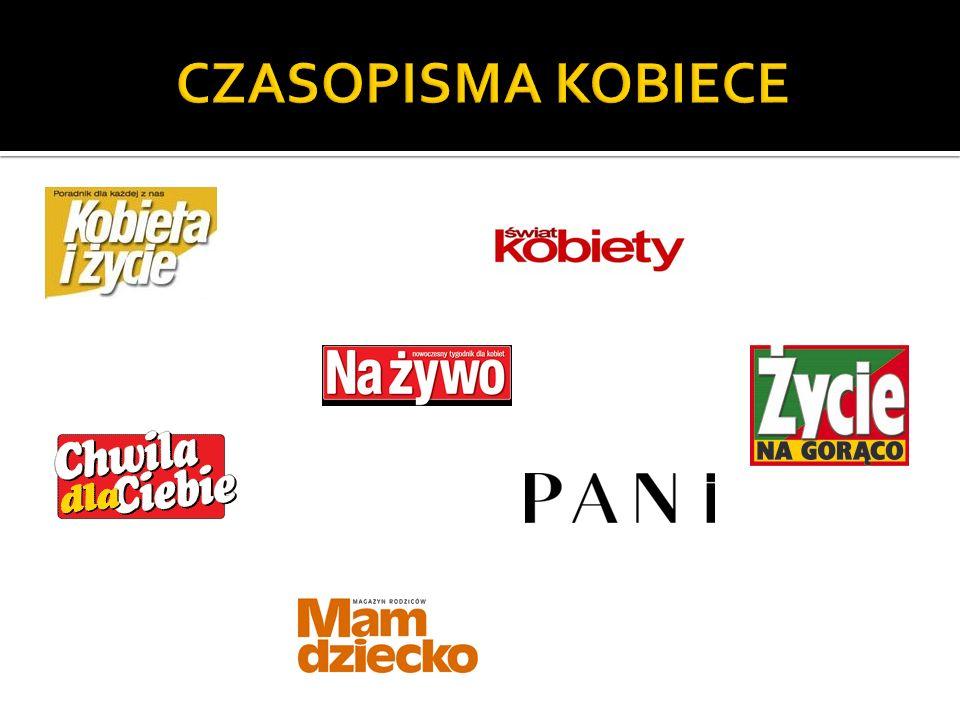CZASOPISMA KOBIECE