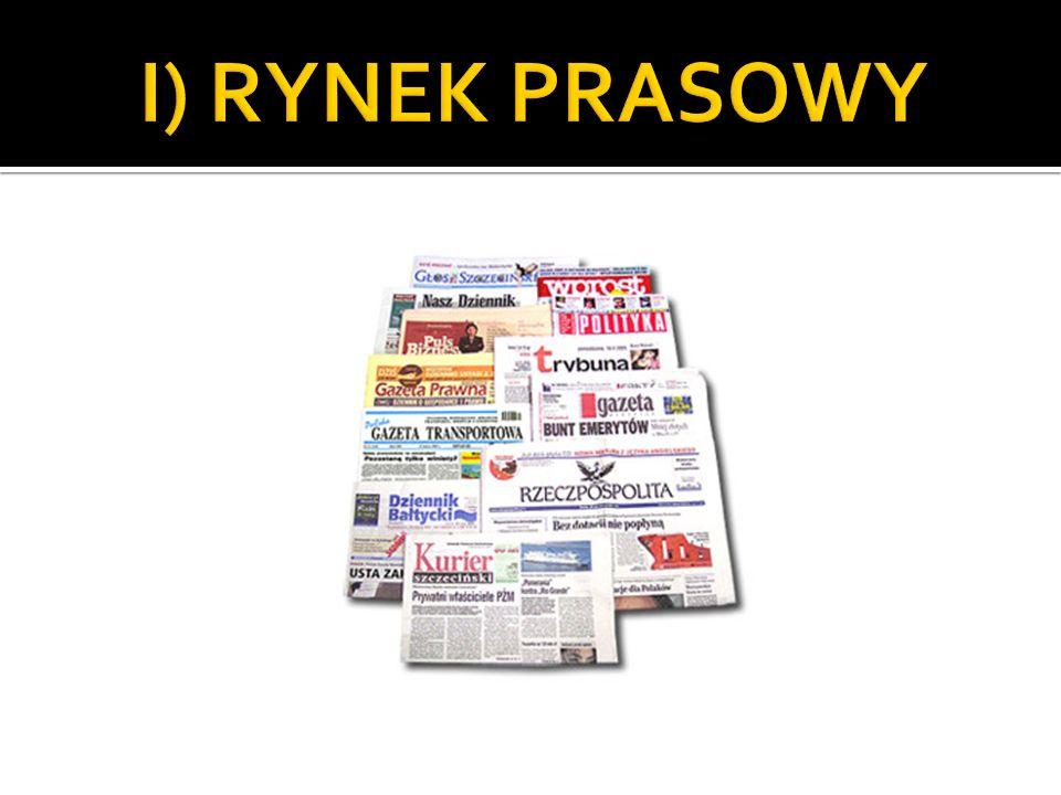 I) RYNEK PRASOWY