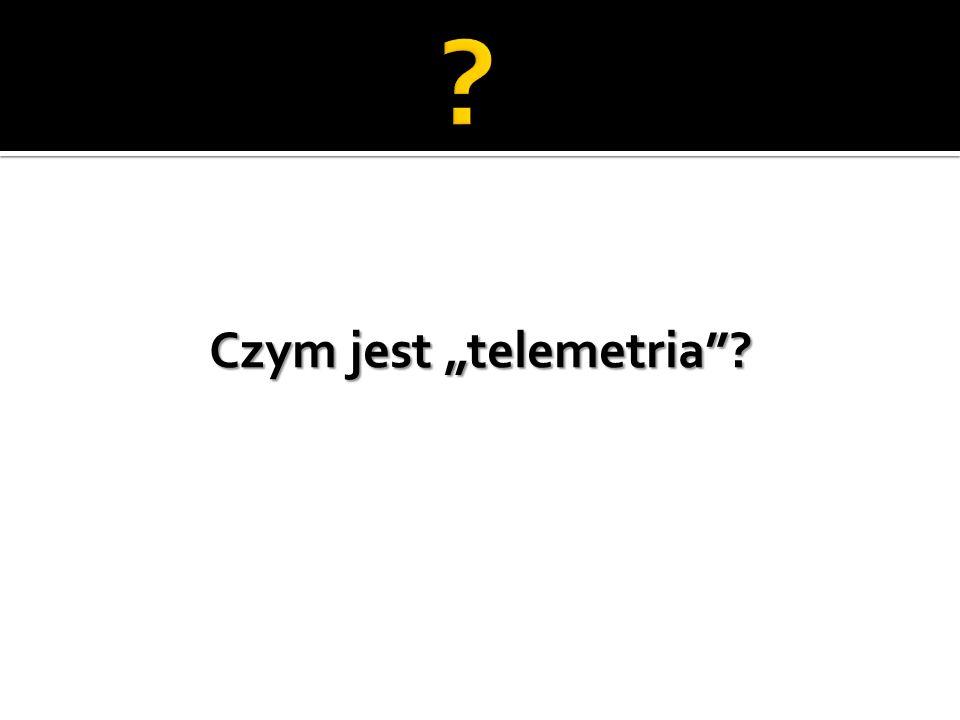 """Czym jest """"telemetria"""