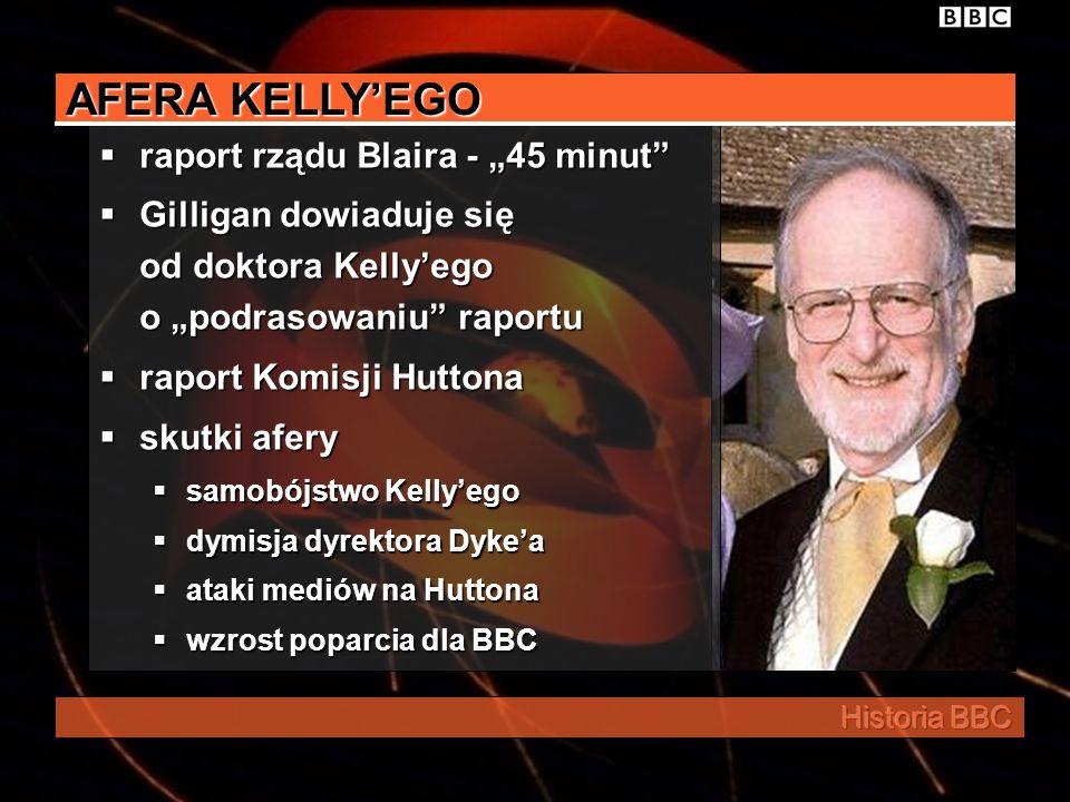 "AFERA KELLY'EGO raport rządu Blaira - ""45 minut"