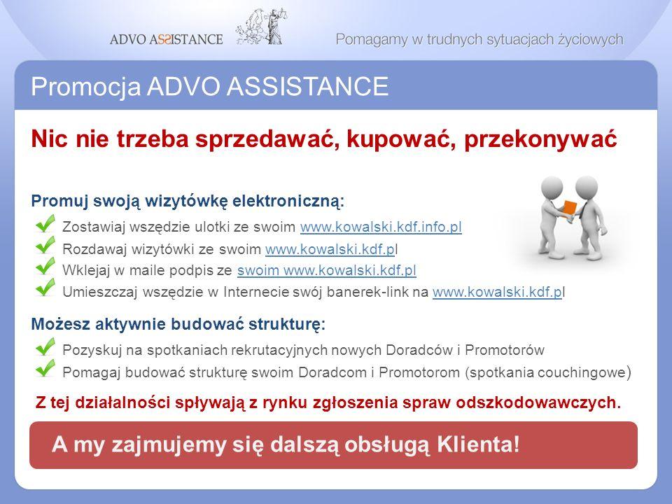 Promocja ADVO ASSISTANCE