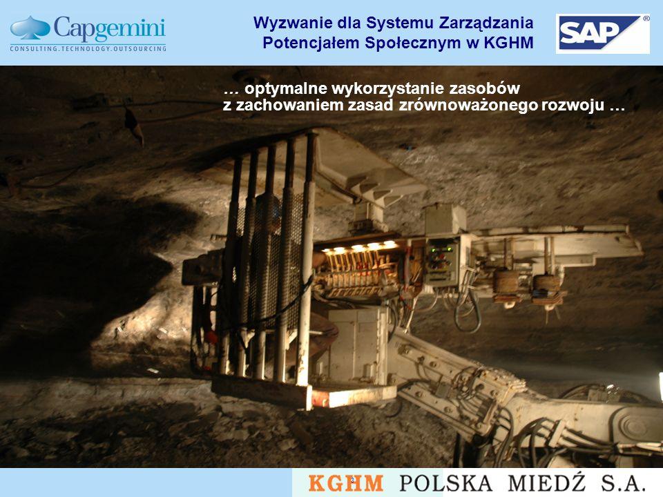 Wyzwanie dla Systemu Zarządzania Potencjałem Społecznym w KGHM