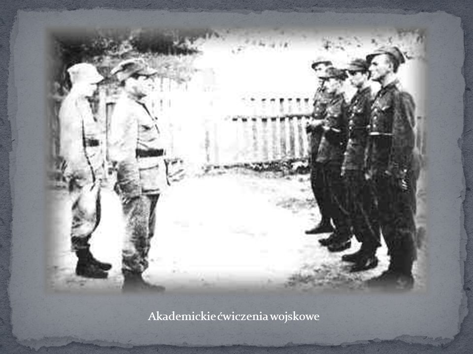 Akademickie ćwiczenia wojskowe