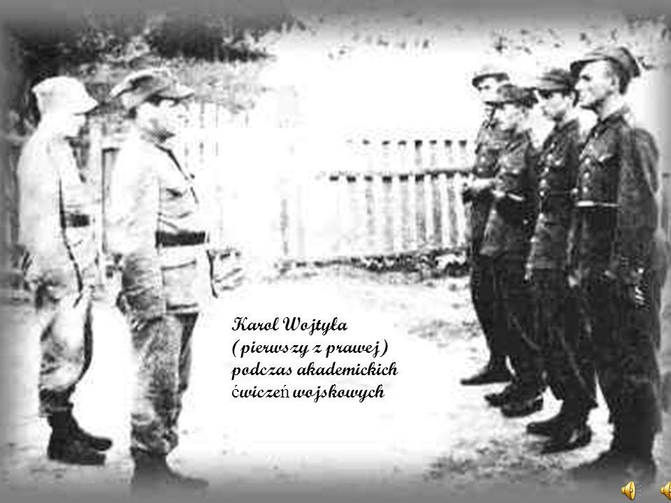 18 lutego 1941 r. po długiej chorobie zmarł ojciec Karola