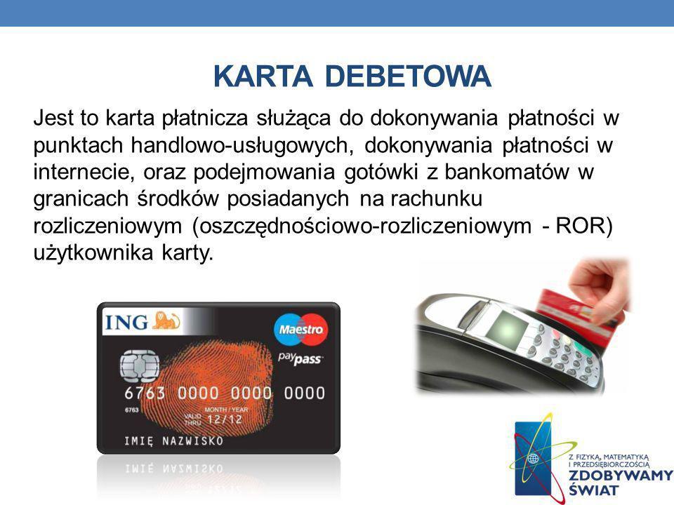 Karta debetowa