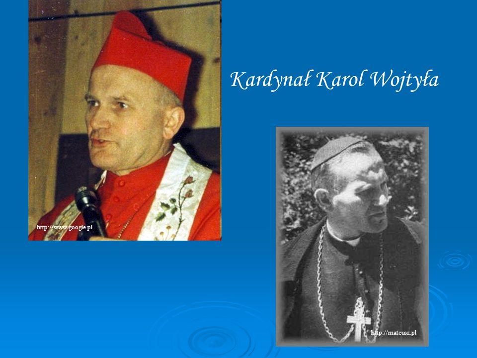 Kardynał Karol Wojtyła