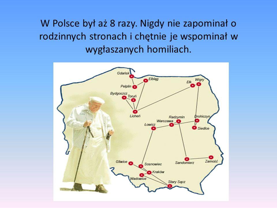 W Polsce był aż 8 razy.