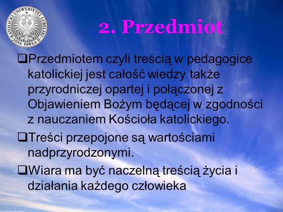 2. Przedmiot