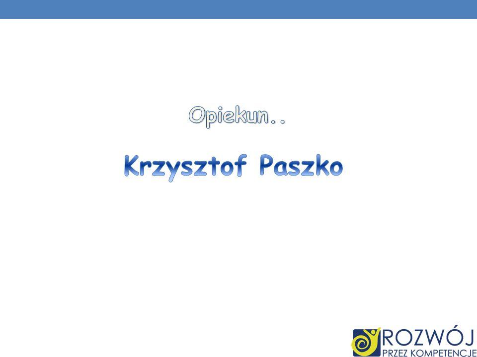 Krzysztof Paszko Opiekun..
