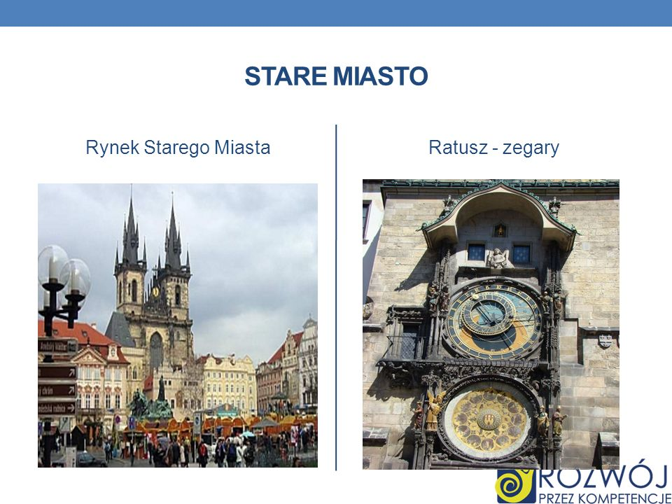 Stare Miasto Rynek Starego Miasta Ratusz - zegary