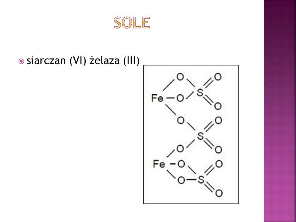 Sole siarczan (VI) żelaza (III)