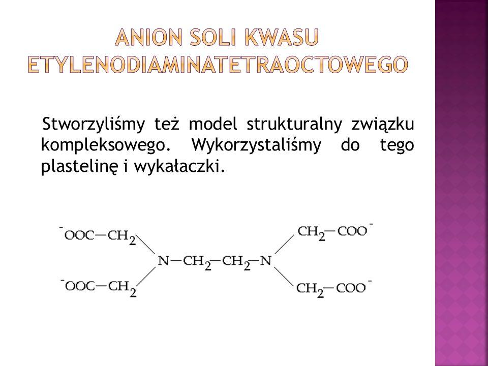 Anion soli kwasu etylenodiaminatetraoctowego