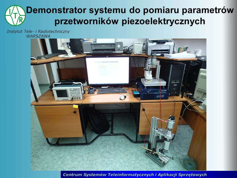 Demonstrator systemu do pomiaru parametrów