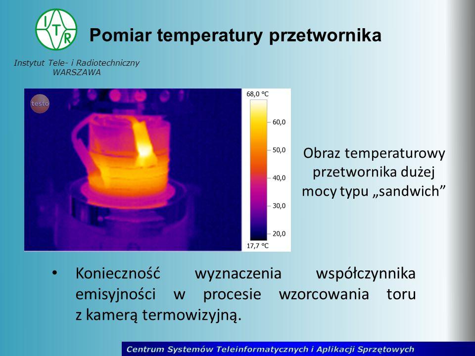 Pomiar temperatury przetwornika