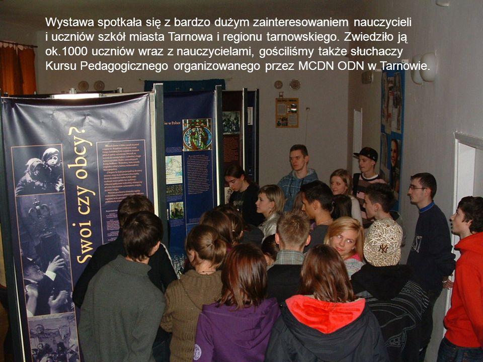 Wystawa spotkała się z bardzo dużym zainteresowaniem nauczycieli