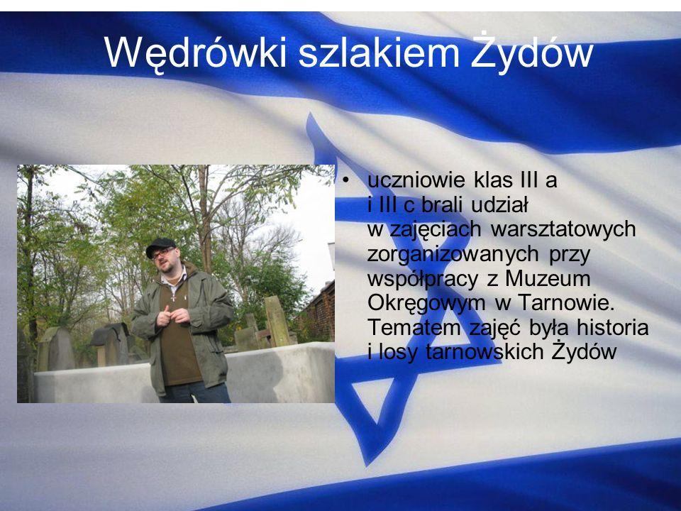 Wędrówki szlakiem Żydów