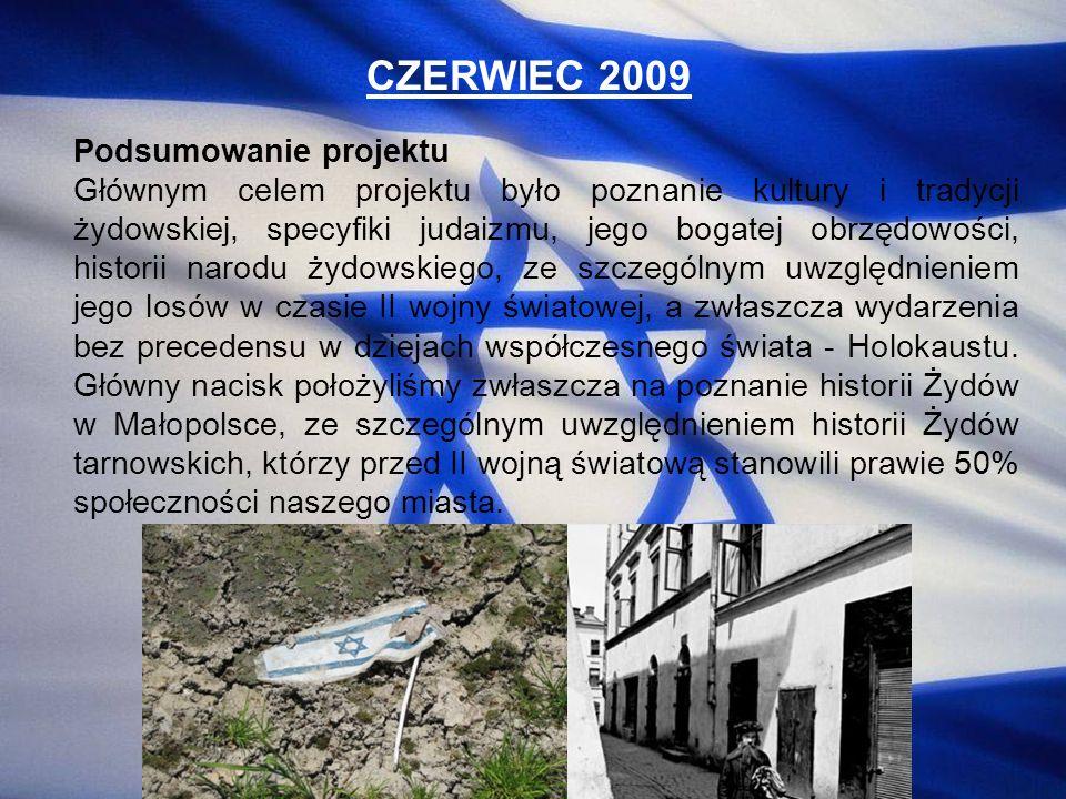 CZERWIEC 2009 Podsumowanie projektu
