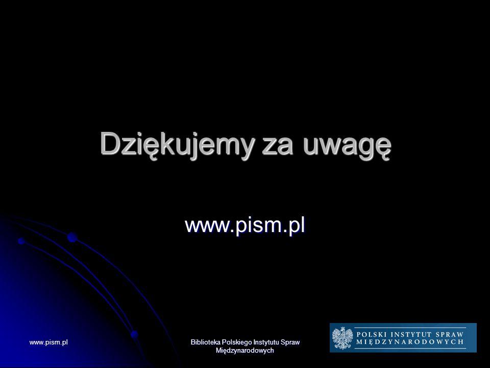 Biblioteka Polskiego Instytutu Spraw Międzynarodowych