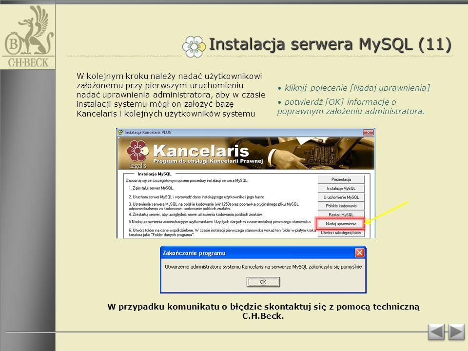 Instalacja serwera MySQL (11)